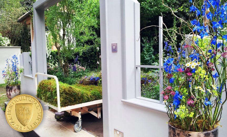front Chelsea Flower Show 2016 Garden Bed