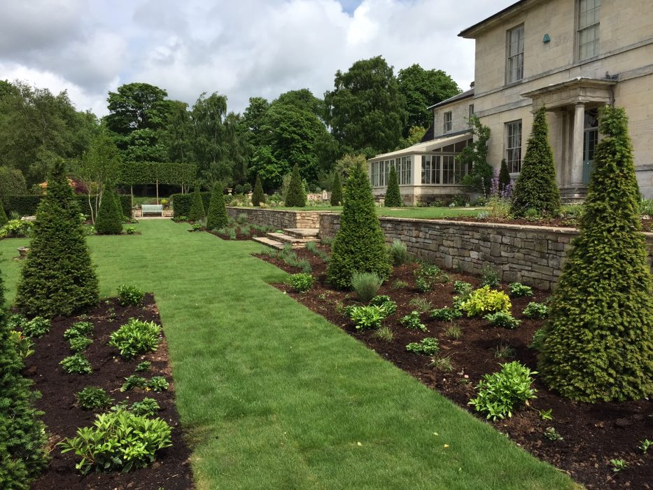 16 new planting turf topiary welch landscape design